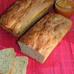 Chleb żytni z gorczycą