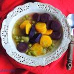 Kolorowa zupa z czterech...