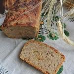 Chleb piwno - cebulowy