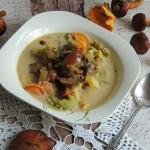 Zupa grzybowa na zakwasie