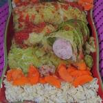 Salsichas enroladas em co...