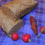 Razowy chleb z oregano