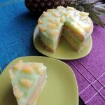 Tort ananasowo - jablkowo...