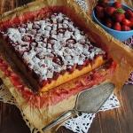 Ciasto truskawkowe na...