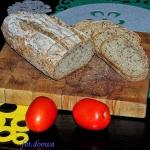 Chleb pszenno - lniany