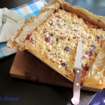 Waniliowe ciasto z rabarb...