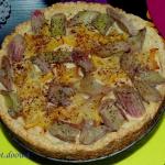 Tarta z karmelizowanym ra...