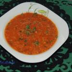 Złocista zupa warzywna...