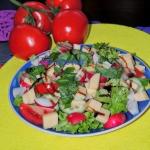 Wiosenna salatka fit