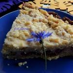 Ciasto rabarbarowe z krus...
