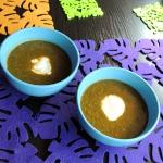 Ostra zupa szpinakowa