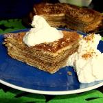 Tort nalesnikowy z cukrem...