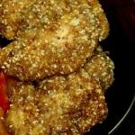 Filety z kurczaka w sezam...