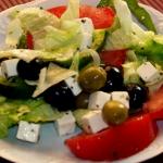 Salatka typu greckiego