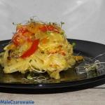 Chiński makaron ryżowy...