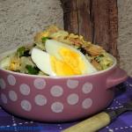 Salatka z czarnej fasoli ...