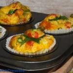 Jajeczne muffiny z czosnk...