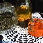 Herbata na zimno  parzona...