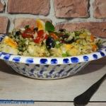 Salatka z kasza jaglana, ...