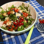 Letnia salatka z borowka ...