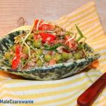Salatka z kaszy gryczanej...