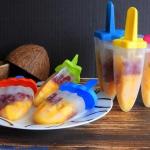 Lody kokosowe z mango i g...