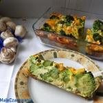 Brokuly zapiekane z jajam...