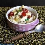 Mleczne risotto z owocami