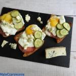 Kanapki z gorgonzolą i...