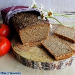 Ciemny chleb litewski na...