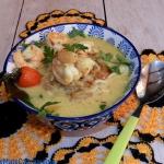 Krewetkowa zupa curry