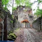 Zamek  Gryf  w...