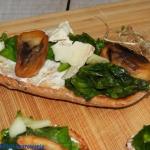Grzanki z gorgonzolą,...