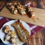 Szisz taouk - kebab w...