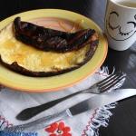 Jogurtowy omlet z miodem