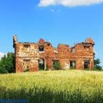 Ruiny dworu w Krąkowie...