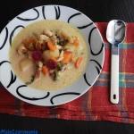 Zupa botwinkowa z fasolą