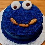 Tort Ciasteczkowy Potwór