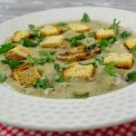 Zupa krem z pieczarek + f...