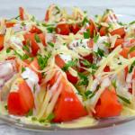 Pomidory z sosem...