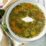 Zupa z brukselki i kapust...