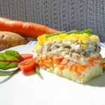 Salatka Mimoza