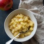 Prażone jabłka