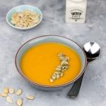 Zupa z pieczonej dyni z...