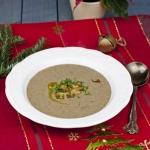 Kremowa zupa grzybowa z k...
