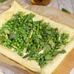 Tarta z zielonymi warzywa...