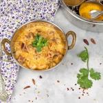 Curry z burakiem i dynią