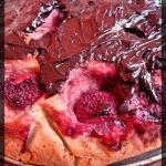 Kokosowe ciasto z truskaw...