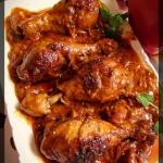 Podudzia kurczaka pieczon...