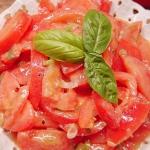 Pomidory w sosie...